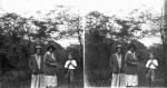 John Mackinlay de Meza with his mother and other family members in Nyasaland