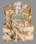 Desert DPM camouflage body armour cover