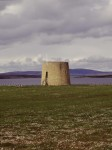 General view of Hackness Martello Tower