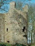 Tower at Lochleven Castle