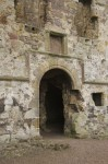 Doorway at Dirleton Castle