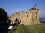 Courtyard at St Andrews Castle