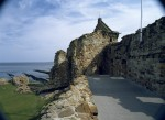 The South Range from the courtyard, St Andrews Castle