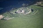 Aerial view of Broch of Gurness