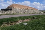 General view of the Blackhouse at Arnol