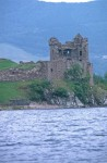 The tower at Urquhart Castle taken from Loch Ness