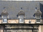 Detail view of Argyll's Lodging, the residence of the Earls (later the Dukes) of Argyll in Stirling