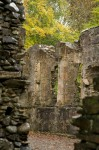 Detail of the chapel at Dunstaffnage Castle