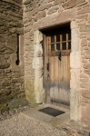 Detail of door at Huntingtower Castle