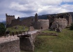 A general view within the grounds of Urquhart castle