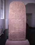 View of Meigle stone, number 4, Meigle Museum