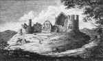 Drawing of Kildrummy Castle