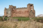 A general view of Tantallon Castle