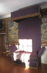 The Earl of Argyll's chair of state in the drawing room in Argyll's Lodging