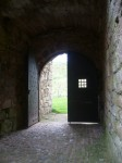 Entrance to Crichton Castle