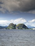 General view of Dumbarton Castle and Rock