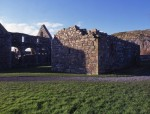 Remains of St Ronan's Church, beside the Nunnery, Iona Abbey