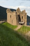 General view of the Tower House, Urquhart Castle
