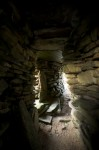 View of the passage by House 1, Skara Brae