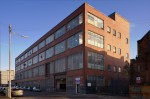 Exterior view of the City of Glasgow College, 4 Rogart Street, Glasgow, designed by John B Wingate, 1957-1960