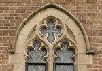 Detail view of St Ninian's Roman Catholic Church, 206 Knightswood Road, Knightswood Cross, Glasgow