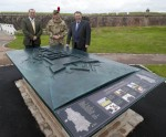 A miniature-sized model of Fort George is unveiled