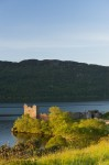 General view of Urquhart Castle from Loch Ness