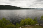 General view of Loch Ness from Urquhart Castle