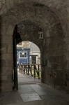 A doorway into Rothesay Castle
