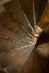 Detail of spiral staircase, Elgin Cathedral