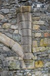 Corbel and rib detail, Dundonald Castle