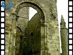 Ruins of St Andrews Cathedral (silent video clip)