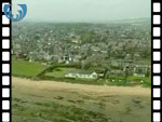 Aerial View of Carnoustie (silent video clip)