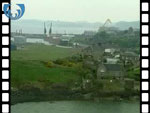 Aerial View of Burntisland (silent video clip)