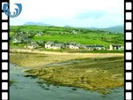 Aerial View of Blackwaterfoot, Isle of Arran (silent video clip)