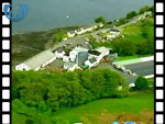 Aerial View of Carbost and Talisker Distillery (silent video clip)