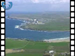 Aerial View of Dounreay (silent video clip)