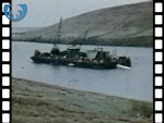 1970's Shetland Oil Pipeline Being Laid (silent video clip)
