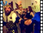 Guizers Dancing During Up Helly-Aa (silent video clip)