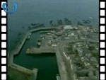 Aerial View of Banff Harbour (silent video clip)