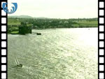Aerial View of Blackness Castle (silent video clip)