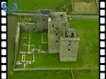 Aerial View of Castle Noltland (silent video clip)