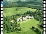 Aerial View of Bowhill (Home of the Buccleughs) (silent video clip)