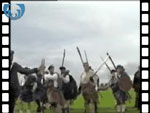 Battle of Prestonpans re-enactment weekend (video clip)