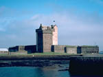 View of Broughty Ferry Castle