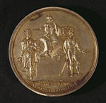 Agricultural medal, awarded for cattle breeding, 1869