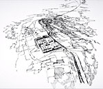 Antonine Wall: Croy Hill (Reconstruction drawing)