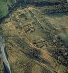 Antonine Wall: Rough Castle (Aerial view)