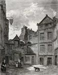 View of Baillie MacMorran's House, Riddle's Court