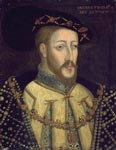 16th century oil painting by an unknown artist of James V